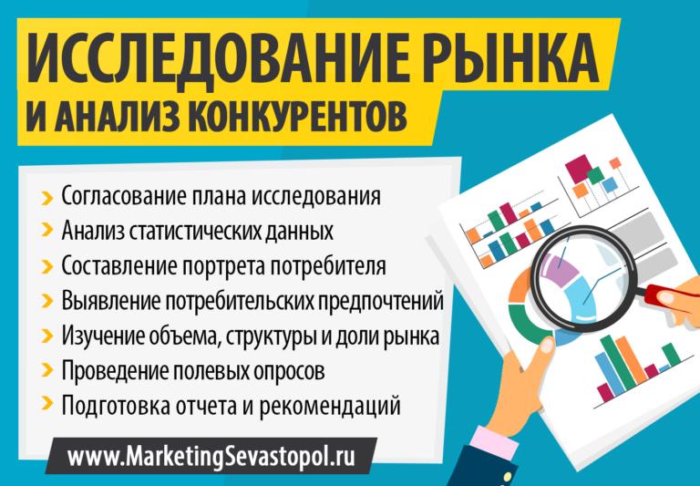 Маркетинг Севастополь - Исследование рынка и анализ конкурентов